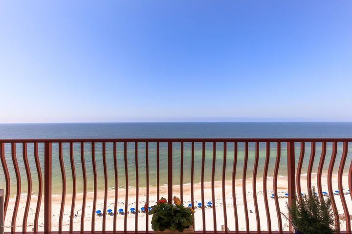 Absolutely incredible 3 bedroom 3 bath unit on Thomas Drive.  This is a small complex with few rental units.  Upon entering this condo you feel as if you were walking into a magnificent home .. spacious living room , separate dining room  and master suite overlook the majestic Gulf of Mexico. Marvelously decorated with the finest finishing touches.  Close to shopping, restaurants and all water activities.