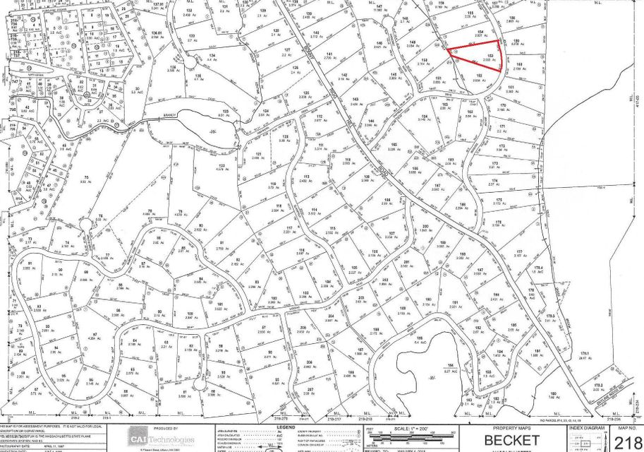 Lot 153 Chippewa Dr Becket MA 01223