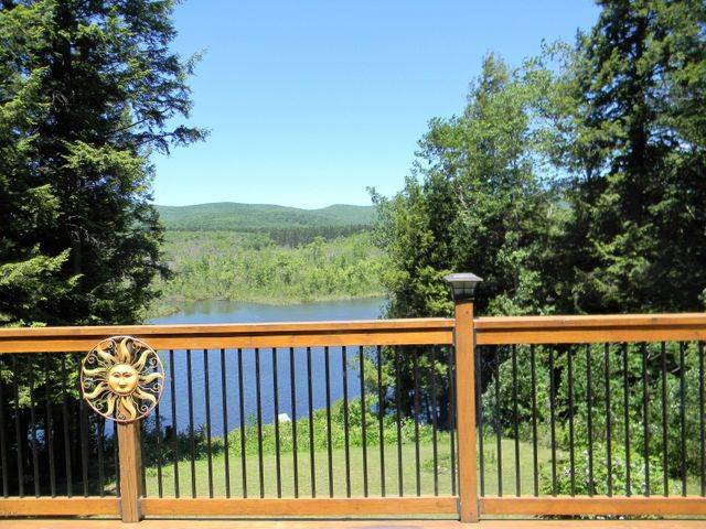 View from the Kitchen and Deck