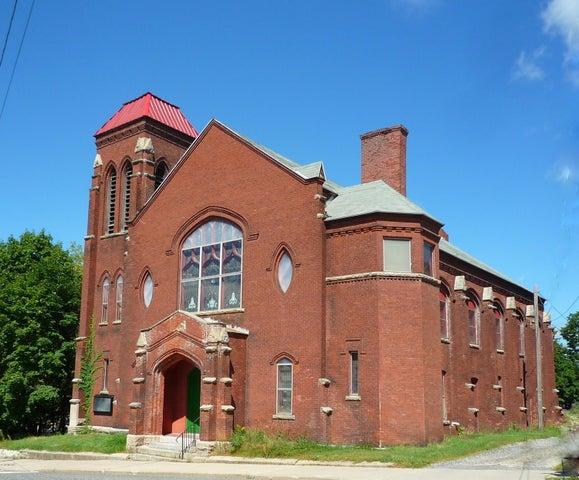 Street view of 62 Center Street Church in Adams, MA