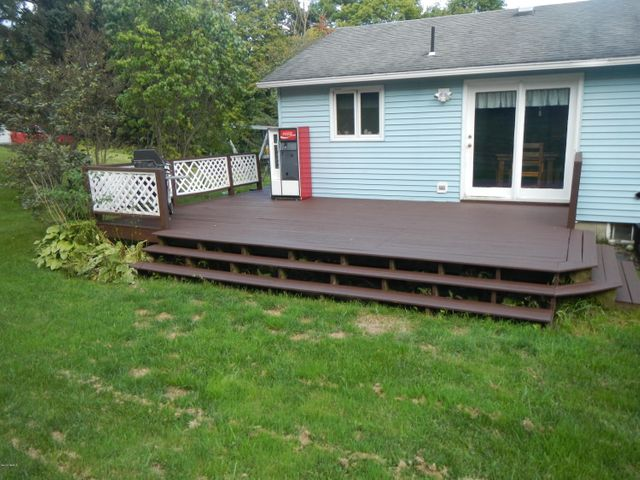 Back/side deck