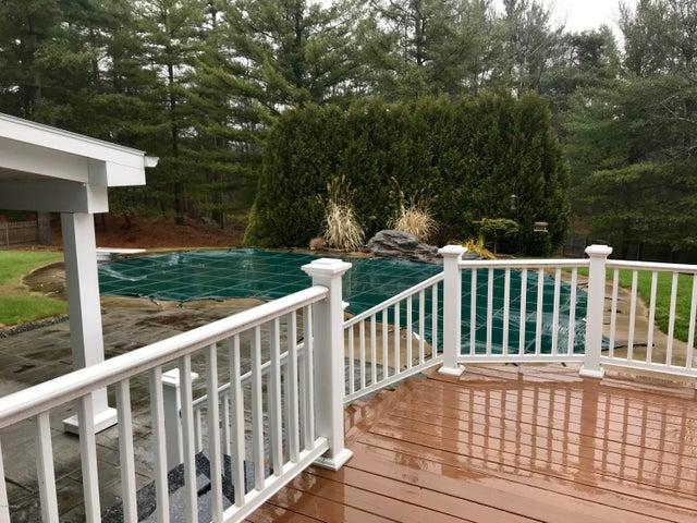 trex deck to cabana & pool