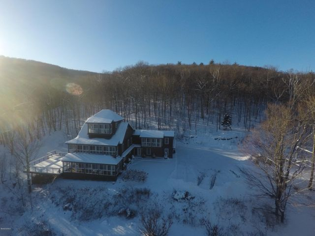 The Ultimate Berkshire Ski House with views of Jimmy Peak - This home could be your own year round Berkshire resort!