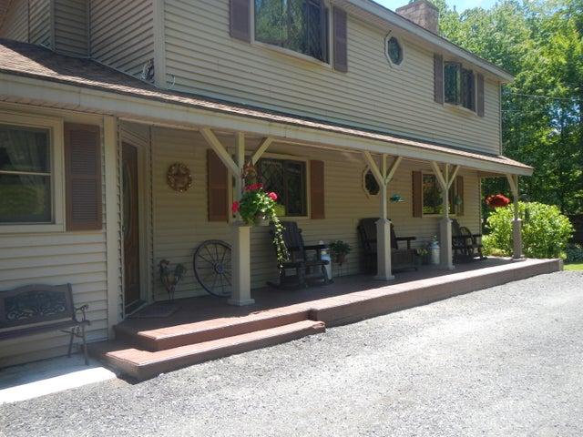 Open front porch