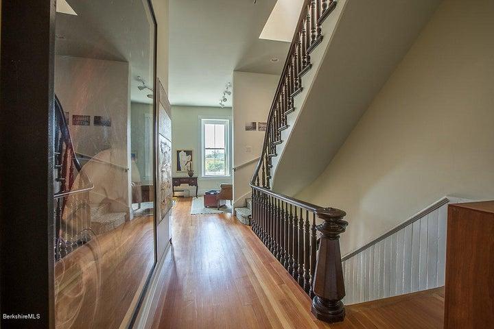 First level hallway