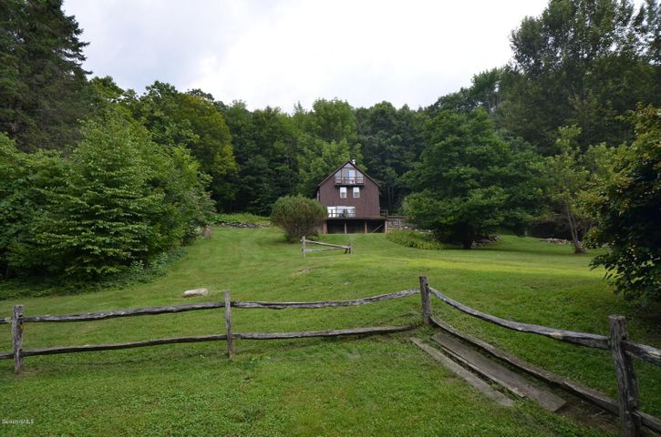 Distant view from main house