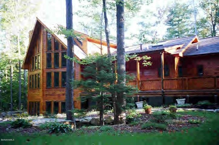 Stunning Adirondeck Lincoln Log Contemporary Custom Designed Home