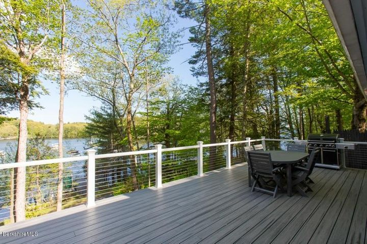 View to south from Deck.