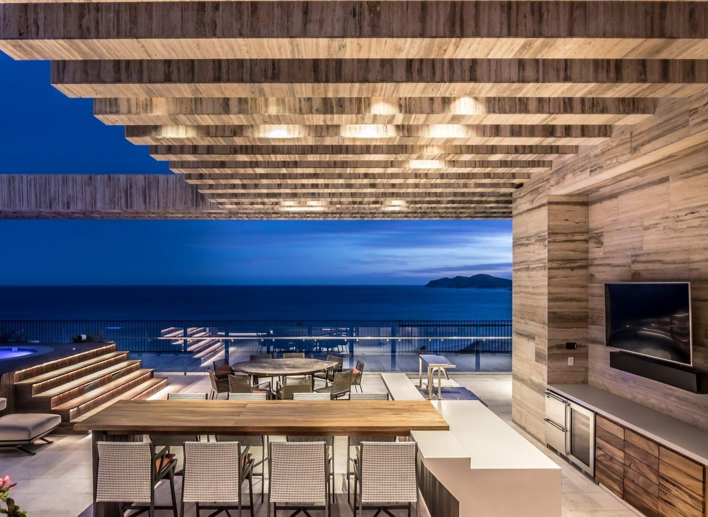 Rooftop Bar Lounge