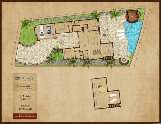 4th Row, pre-construction, El Encanto, Home Site #37-, San Jose del Cabo,