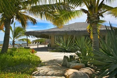 Sandy cove beachfront home, East Cape,