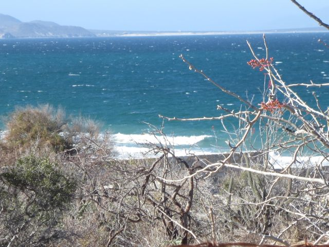 Beautiful views to the Sea of Cortez