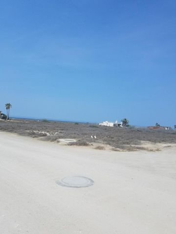 Lot 2 third lot back from the beach, Los Pinos, East Cape,