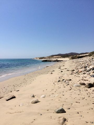 Conquista Agraria, Bountiful Baja Beachfront Lot, Pacific,