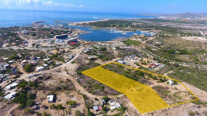 1 of three lots available in Puerto Los Cabos