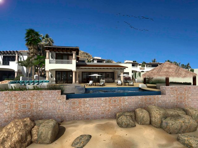 Rendering of the view from the beach