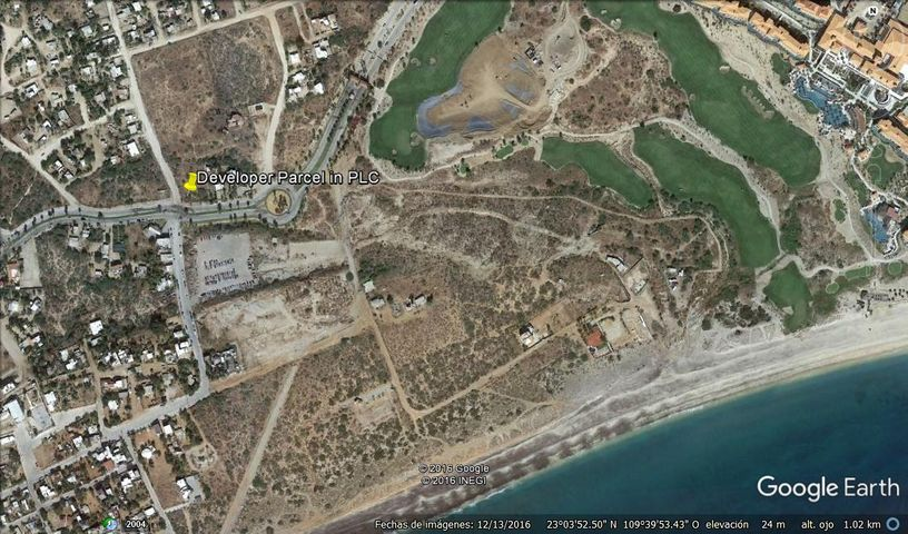Location of lot