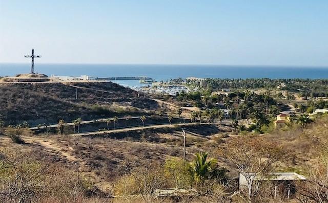 La Choy Hill, Marina & Ocean View land, San Jose del Cabo,