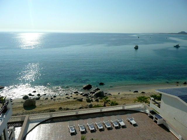 View from Beach of Mar Y Sol Condos