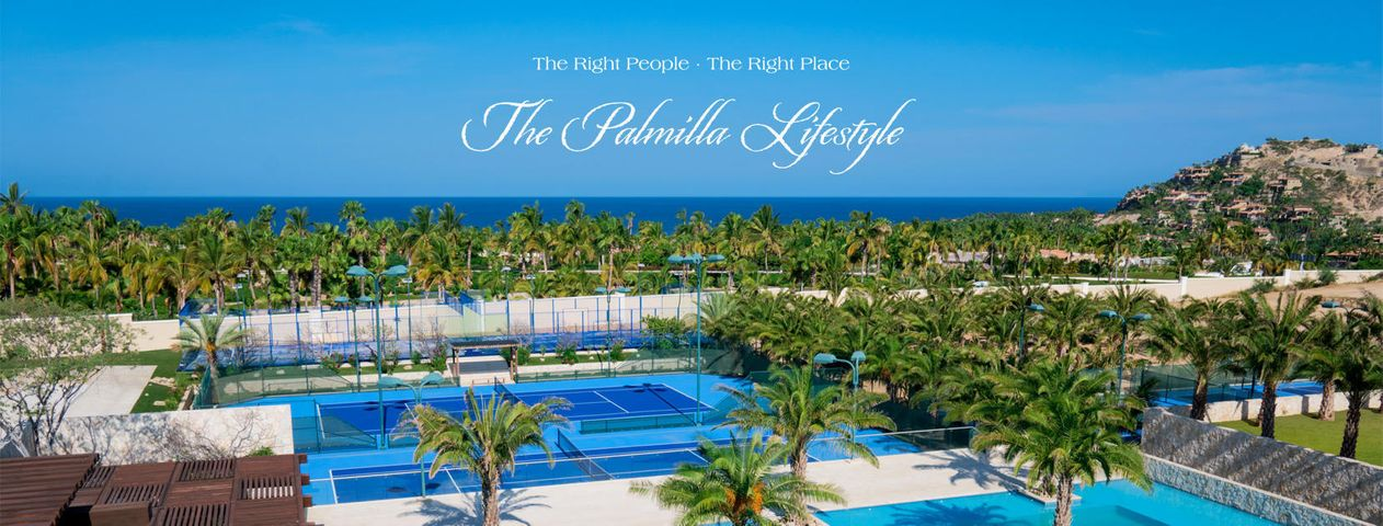 The right people. The right place. The Palmilla Lifestyle