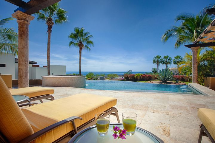 Sip a margarita or relax in the jacuzzi spa.
