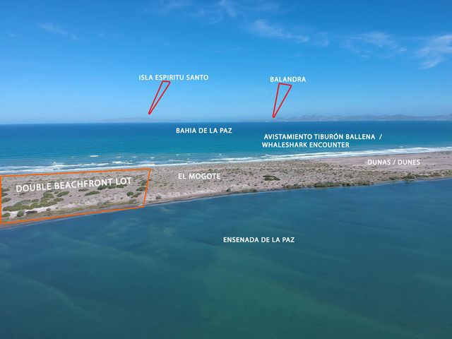 SN, Mogote Double Beach Front Lot, La Paz,