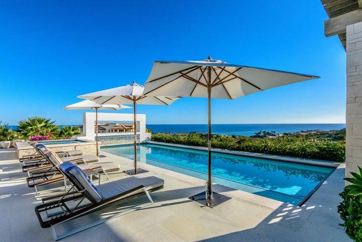 Pool patio view