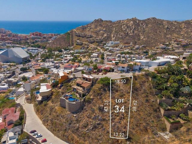 Block # 42 Camino Grande, Pedregal lot # 34, Cabo San Lucas,