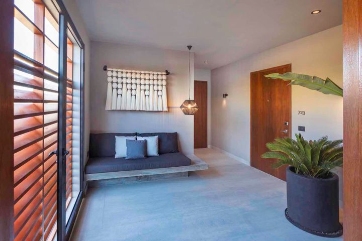 Two bedroom residences include private antechambers complete with owners closet