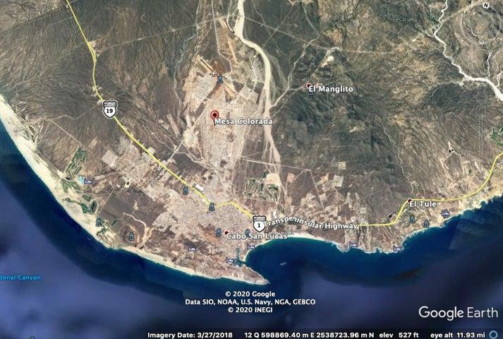 Leona Vicario & Del Concho St, La Ley Lot Mesa Colorada, Cabo San Lucas,