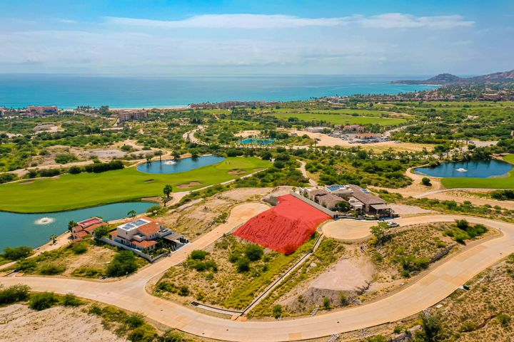 Unique Homesite with Golf course, Lake, and Ocean views