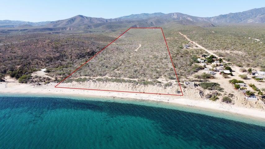 Los Barriles - Santa Teresita, Beach front lot, East Cape,