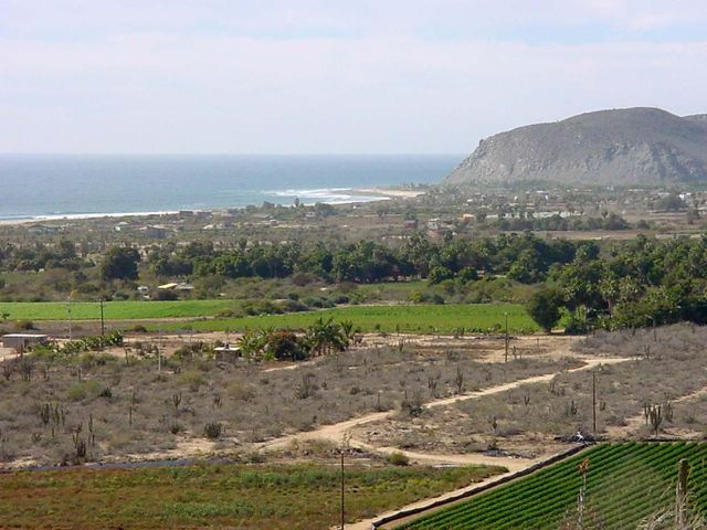 View of the San Pedrito surf break.