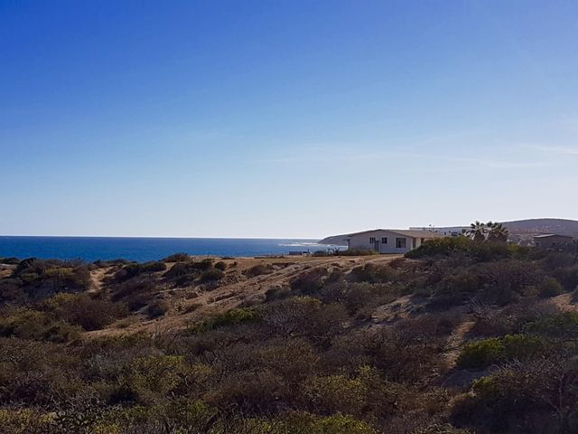 View to Punta Perfecta from the east side of the lot.