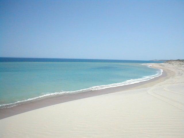 Incredible White Sand Beach