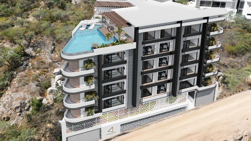 1 Don Alberto, Three Point Tower- New Condo, Cabo San Lucas,