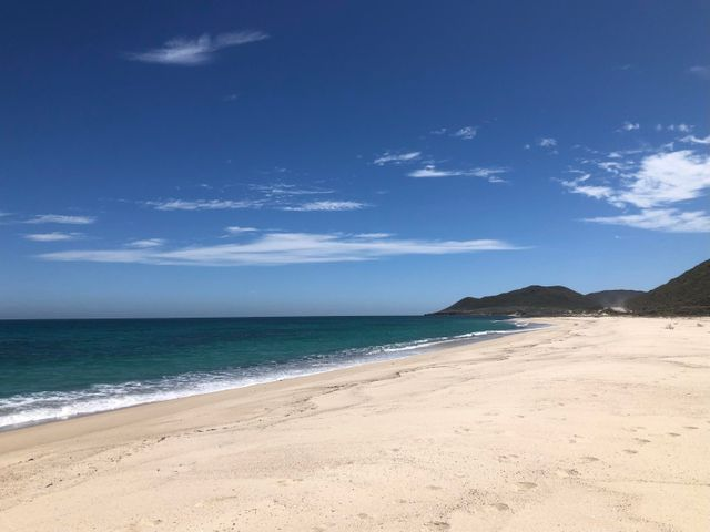 Las Barracas Beach!