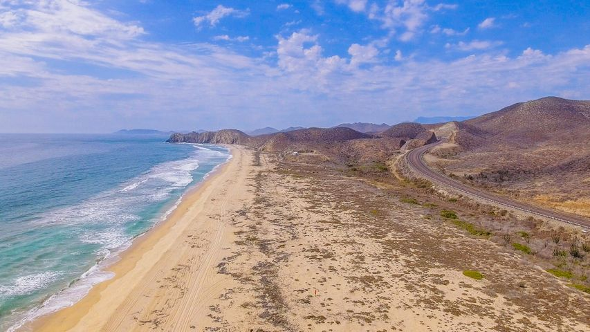 Oceanfront Lot E Elias Calles, First Row 1000m2, Pacific,