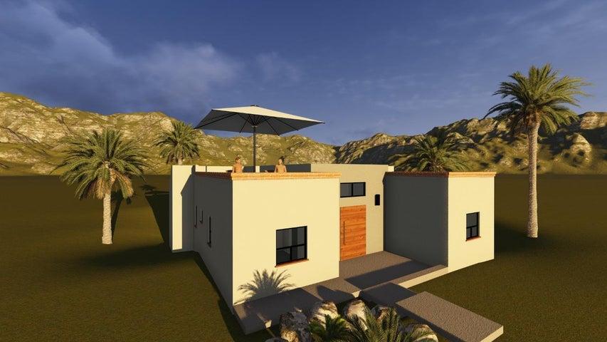 La Poza, Casa Cactus, Pacific,