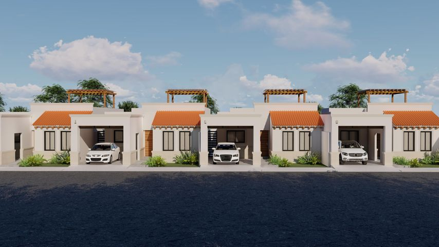 PRECONSTRUCTION RESIDENCES, THIS IS A RENDERING AND MAY VARY FROM THE FINAL PRODUCT. COVER PARKING AREA IS AN UPGRADE, LANDSCAPING NOT INCLUDED.