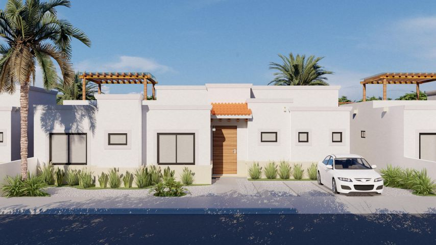 PRECONSTRUCTION RESIDENCES, THIS IS A RENDERING AND MAY VARY FROM THE FINAL PRODUCT. COVER PARKING AREA, GARAGE AND SWIMMING POOL IS AN UPGRADE, LANDSCAPING NOT INCLUDED.