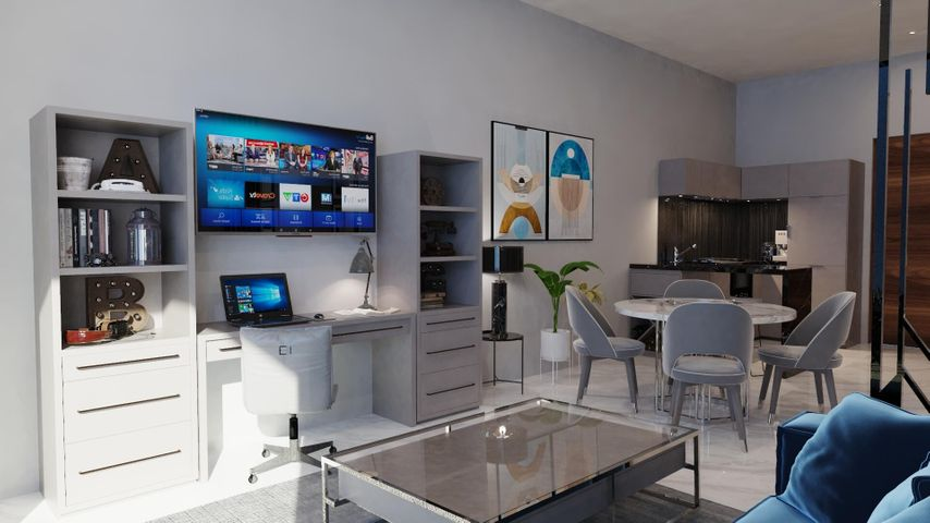 Main Living room combined with dining