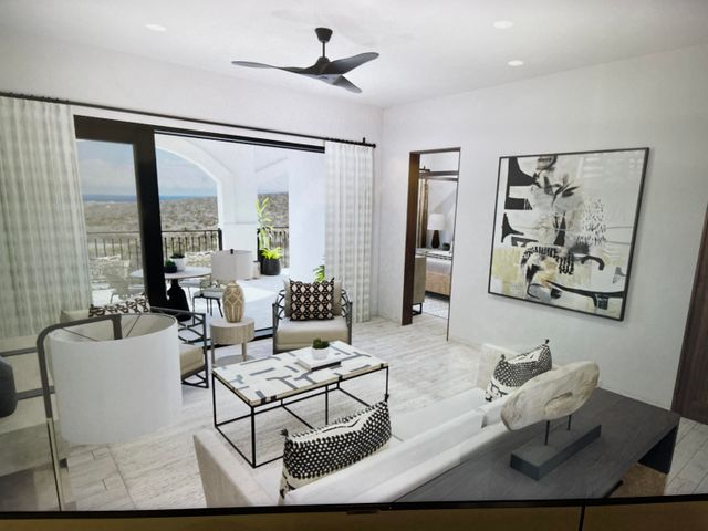 5th floor 2 bed living