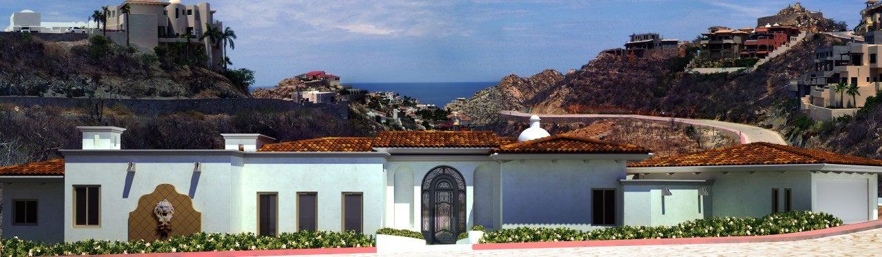 Home Green Home, in front Spa Camino del Patron Pedregal, Cabo San Lucas,