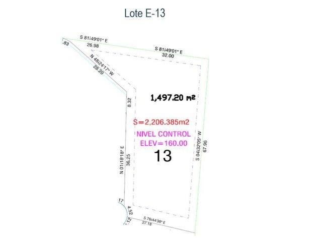 map lot E-13