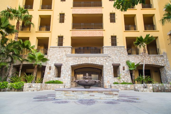 Beautifully decorated 3 bedroom plus den ocean view condo in the Beachfront community of Hacienda Beach Club and Residences, the most desirable location in Cabo, Playa el Medano. Walking distance to the marina, Restaurants, night clubs, water activities and all that the Cabo life has to offer. With services and amenities like gym, adults and family pools, putting green, valet parking, on site restaurants and much more, this unit checks all the boxes. If you are looking to rent this unit has a great rental income history.Handicap accessible and pet friendly