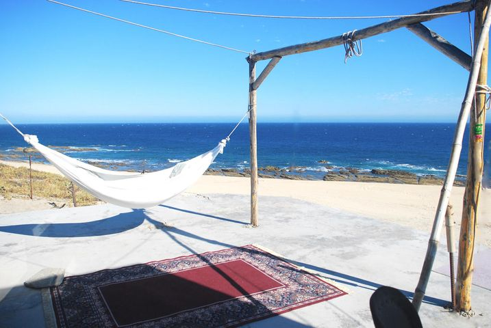 BEACH FRONT PAD!  Super location! Walking distance to Shipwreck's Beach puts you minutes away from your favorite surf spot.  Perched on a bluff and overlooking an arroyo adds another dimension to your view.  A small house, a fixer upper with 2 bdrs and 2 full baths, currently has tenants.  Perfectly functional!  The property is about 1/2 mile from the end of pavement making it a quick turn around to amenities in San Jose