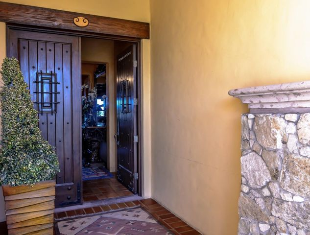 50%partnership available. More than a Condo, this 3 BR, 3.5 BA Veranda is really a home on a lot that is beautifully landscaped, with private Jacuzzi and pool. The layout of the Veranda provides the living area with openness that offers views of the sandy beach and beautiful Sea of Cortez. Every room has been impeccably decorated. Located right on Medano beach and walking distance to local restaurants, shops, and the marina. Besides its amenities such private beach club, restaurant, gym spa and much more, Hacienda has an amazing on site staff that will provide you with the lifestyle you are looking for.