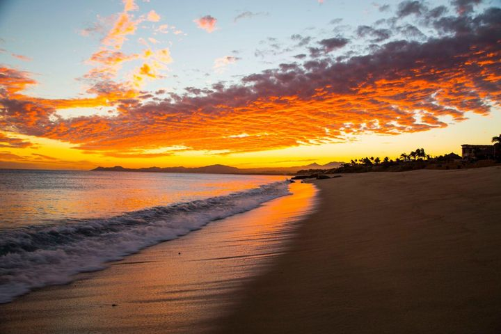 Sunset at El Encanto Beach
