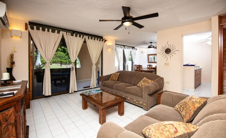 Conquistador is a quaint building of just 18 units in a spectacular location to shopping, Dining, Beach, Down town. All with in walking distance. This is a rear ground floor unit just steps to the pool. Very open, clean and they make great rentals.